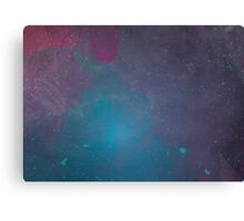 Space Blast Canvas Print