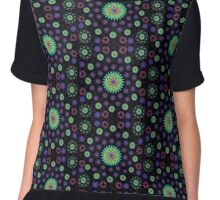Energy Patterns Chiffon Top