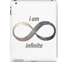 I am infinite iPad Case/Skin