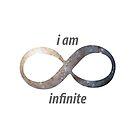 I am infinite by creepyjoe