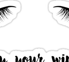 Eyeliner Mantra Sticker