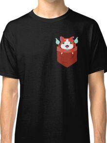 Pocket Jibanyan Classic T-Shirt