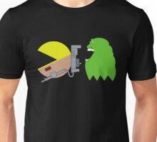Pac Ghost   Ghostbusters Unisex T-Shirt