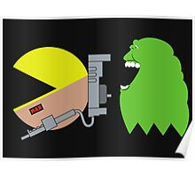 Pac Ghost   Ghostbusters Poster