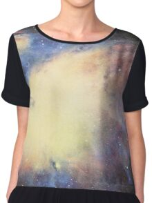 Spacey Space Chiffon Top