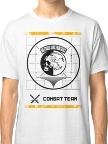 Metal Gear Solid MSF Combat Team Shirt Classic T-Shirt