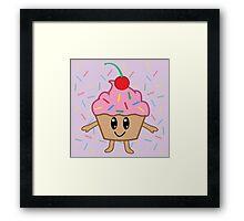 A Cute Little Cupcake Framed Print