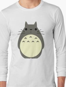 Vector Totoro - My Neighbor Totoro Long Sleeve T-Shirt
