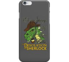 The Desolation of Sherlock iPhone Case/Skin