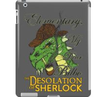 The Desolation of Sherlock iPad Case/Skin
