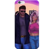 80's Comic Book Characters Concept iPhone Case/Skin