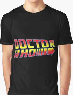 Back to Doctor Who Mash Up  Graphic T-Shirt