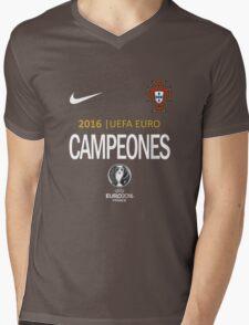 PORTUGAL Football Team - campeones -CHAMPION - UEFA EURO 2016 Mens V-Neck T-Shirt