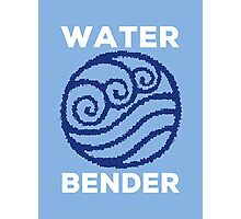 Water Bender and Proud Photographic Print