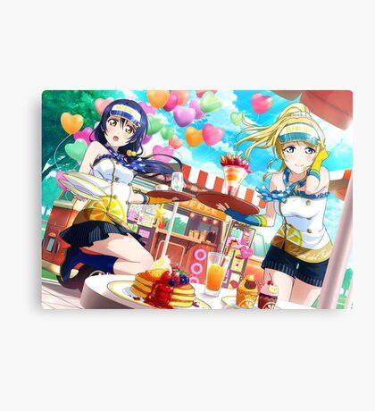 Love Live! School Idol Project - μ's Sweet Shop Canvas Print