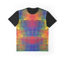 Rainbow Patch Graphic T-Shirt