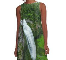 Waterfall in the Woods A-Line Dress