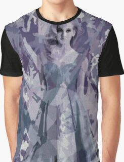 Violet Ice Graphic T-Shirt