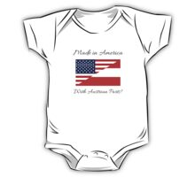 Made in America with Austrian Parts. One Piece - Short Sleeve