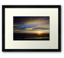 Cape Lookout at Sunset #4 Framed Print