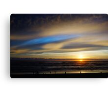 Cape Lookout at Sunset #4 Canvas Print