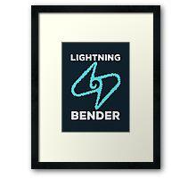Lightning Bender and Proud Framed Print