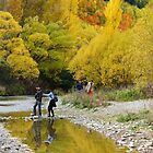 Autumn Amble in Arrowtown by Harry Oldmeadow