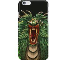 Here There Be Dragons! iPhone Case/Skin