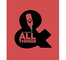 Sriracha & ALL THINGS Photographic Print