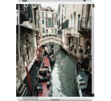 Crowded Canal iPad Case/Skin