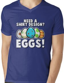 Eggs! Mens V-Neck T-Shirt