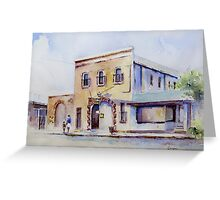 Forbes Historical Museum Greeting Card