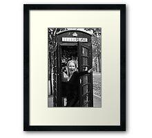 Feminin[c]ity - London Framed Print
