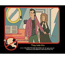 "Venkman - ""They hate this."" Photographic Print"
