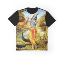 Yoga Pants Bali Krishna Graphic T-Shirt