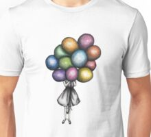 Balloon Girl Unisex T-Shirt
