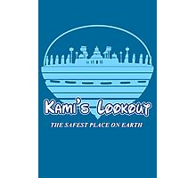 Kami's Lookout Photographic Print