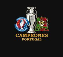 PORTUGAL Football Team 3 - campeones -CHAMPION - UEFA EURO 2016 Unisex T-Shirt
