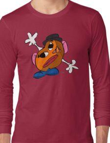 Mr. Potato Head as a Picasso Long Sleeve T-Shirt