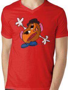 Mr. Potato Head as a Picasso Mens V-Neck T-Shirt