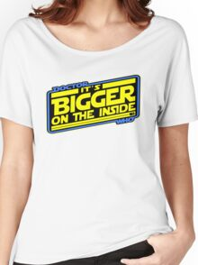 Doctor Who: The TARDIS Strikes Back Women's Relaxed Fit T-Shirt