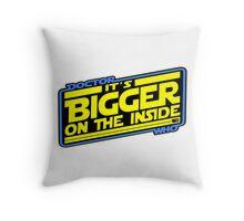 Doctor Who: The TARDIS Strikes Back Throw Pillow