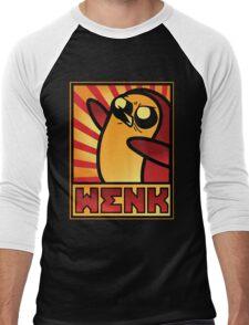 WENK Men's Baseball ¾ T-Shirt