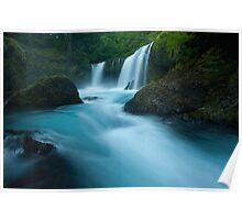 Waterfall of the Pacific Northwest Poster