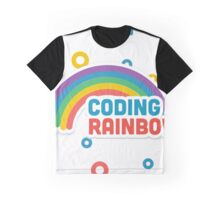 Coding Rainbow  Graphic T-Shirt