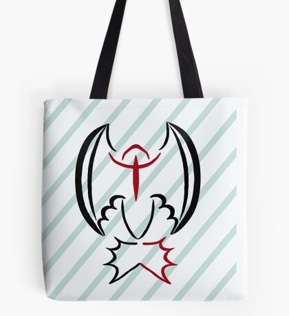 Soul of A Dragon Tote Bag