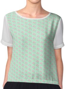 Peace Blossoms Chiffon Top