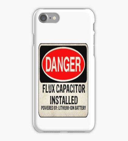 Logo-Flux Capacitor iPhone Case/Skin