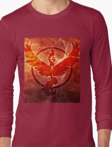 POKEMON GO TEAM VALOR Long Sleeve T-Shirt