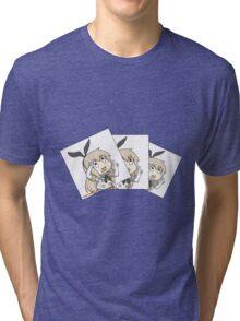 Shimakaze nee-san Tri-blend T-Shirt